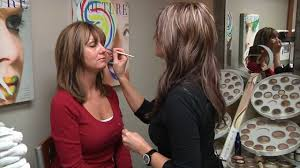 applying jane iredale mineral cosmetics directly after chemical