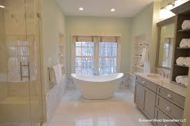 Luxury Powder Room Luxury Baths Bullseye Wood Specialties Llc