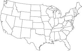 map of us states empty fillable us map twenty hueandi co