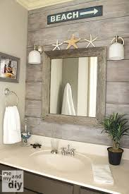 Beachy Bathroom Ideas Theme Bathroom The Drift Wood The Mirror