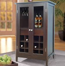 Jenlea  Bottle Floor Wine Cabinet  Reviews Wayfair - Kitchener wine cabinets