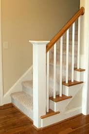 Wood Banisters And Railings 16 Best Stair Skirting Images On Pinterest Stairs Basement