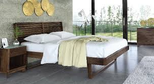 Walnut Furniture Bedroom by Copeland Contour Bedroom Nw Ambiente Modern Furniture