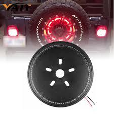 spare tire cover for jeep wrangler 2017 spare tire cover led third brake light for jeep wrangler jk