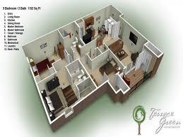 100 2 bed 2 bath floor plans excellent 2 bedroom bath