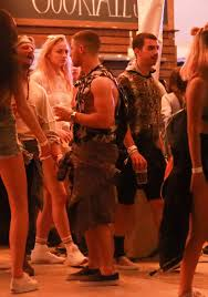 lyrica anderson and meagan good sophie turner and joe jonas night out at coachella in indio 04 14