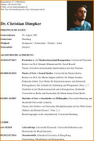 Lebenslauf Vorlage Uni 4 Moderner Lebenslauf Resignation Format