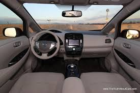 nissan note interior 2012 review a week in a 2012 nissan leaf the truth about cars