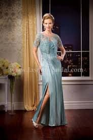 Mother Of Bride Dresses Couture by Jasmine Bridal Jade Couture Style K178056 In Mohito Crafted