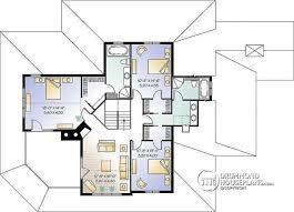 quad level house plans house plan w3832 detail from drummondhouseplans com