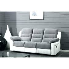 canape relax 3 places canape relax simili cuir blanc canapa sofa divan canapac