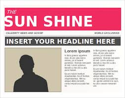 news report template newspaper templates 14 free word pdf psd ppt documents