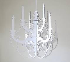Party Chandelier Decoration by Lighting U0026 Ceiling Fans Modern Cardboard Candelabra Centerpiece
