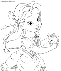 coloring pages delightful belle coloring pages princess 3 belle