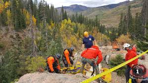 Vail Mountain Map Recovery Efforts To Retrieve Semi Truck Continue On Vail Pass
