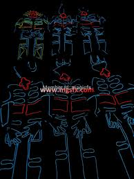 Tron Halloween Costume Light Up wrecking crew orchestra el wire dance suit tron light suit