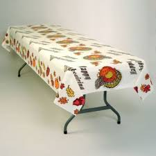 thanksgiving turkey banquet table cover thanksgiving