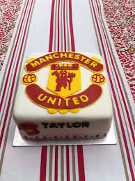 8 manchester united cakes images manchester