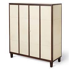 4 Door Cabinet Frank Walnut And Vellum 4 Door Cabinet Desks Cabinets