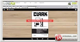 clark forklift parts pro plus v444 03 2017 official and setup