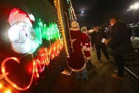 sunol train of lights holiday trains from santa cruz to mendocino the mercury news