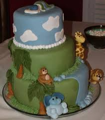 a sweet cake monkey