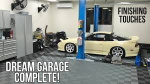 the dream garage is complete youtube the dream garage is complete