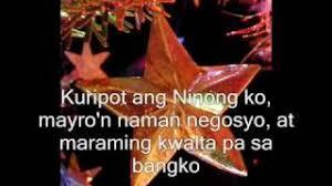 paskong bukol with lyrics christmas song youtube