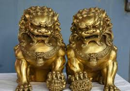 pictures of foo dogs free shipping 11 folk brass evil talisman fu foo dogs