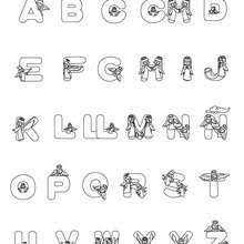 christmas angels spanish letters coloring pages hellokids
