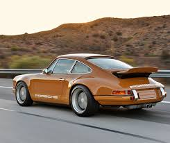 Porsche 911 Orange - this burnt orange custom porsche is what automotive perfection