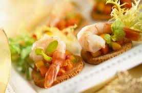 canapes with prawns canapés with peppers and prawns tesco food