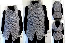 crochet wrap ravelry 884 beckham wrap vest pattern by emi harrington