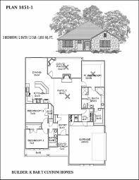 Custom Floor Plan Floor Plans K Bar T Custom Homes Custom Floor Plan Liberty Hill Tx