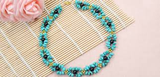 necklace making accessories images Elegant jewelry beads and accessories turquoise beaded necklace jpg