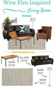 Living Room Furniture For Less Living Room Inspired By West Elm For Less Smart Money Mom
