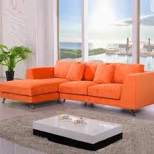 canap orange canape d angle orange maison architecture et décoration