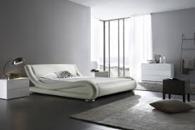 White Leather Bed Frame King White Leather Bed Frame Buy King Size White Designer Faux