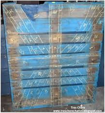 Union Jack Pallet Table The by Tres Chere Pallet Jack