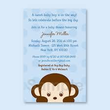 Mod Baby Shower by Mod Monkey Custom Baby Shower Invitation By Littleprintsparties