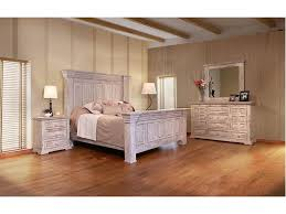 Bedroom Furniture Direct International Furniture Direct 1022 Terra White Queen Panel Bed
