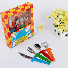 stainless steel and plastic cutlery sets knife spoon fork beer
