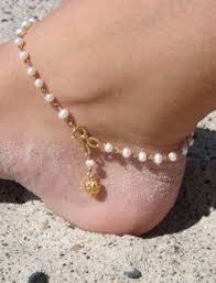 gold ankle bracelet with hearts images Gold anklet with heart charm jpg