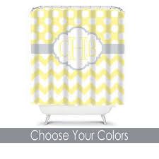 shop gray chevron shower curtain on wanelo