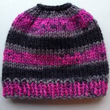 the best free knit ponytail hat patterns aka bun beanies