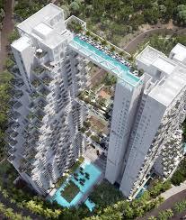 moshe safdie u0027s sky habitat nears completion in singapore