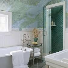 whimsical bathroom wallpaper design ideas