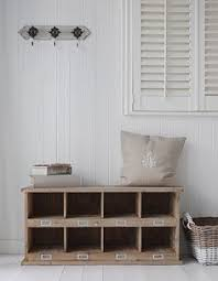 Hallway Shoe Storage Bench Hallway Storage Bench With Square Wicker Baskets Great For Shoe