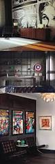 best 25 man cave garage ideas on pinterest man cave mancave 10 man cave ideas for real men home decor tips comic themed men s office this dark black wall studio has a touch of superhero and comic decor paired with