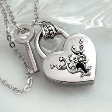 lock necklace with key images Heart lock and key silver heart lock necklace valentines day jpg